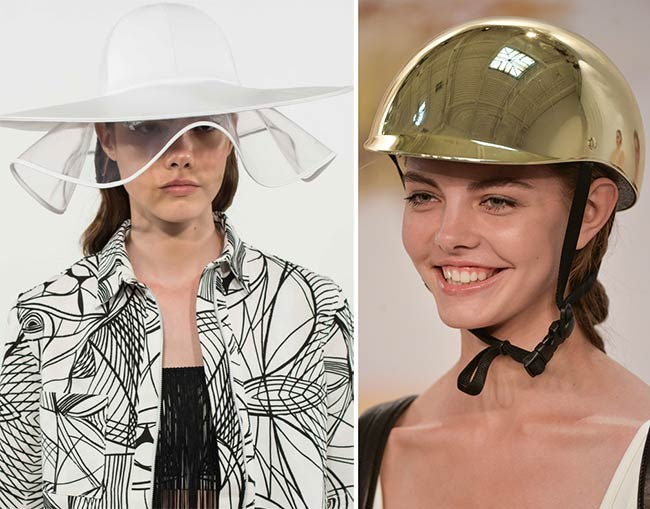 Spring/ Summer 2015 Headwear Trends: Strange and Extravagant Hats