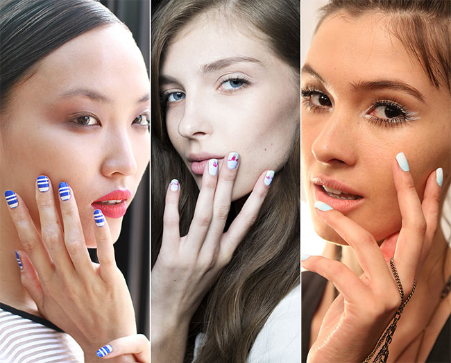 Spring/ Summer 2015 Nail Trends: Blue Nails