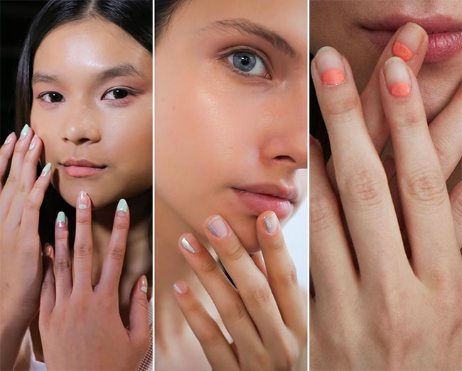 Spring/ Summer 2015 Nail Trends: Negative Space Nail Art
