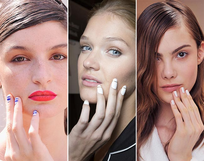 Spring/ Summer 2015 Nail Trends: Striped Nails