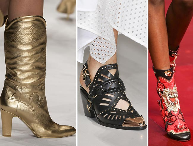 Spring/ Summer 2015 Shoe Trends: Cowboy Shoes