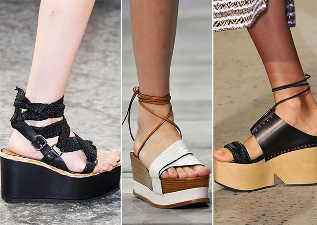 Spring/ Summer 2015 Shoe Trends: Flatforms/ Platform Flats
