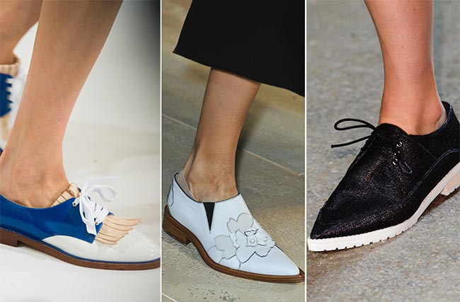 Spring/ Summer 2015 Shoe Trends: Masculine Shoes