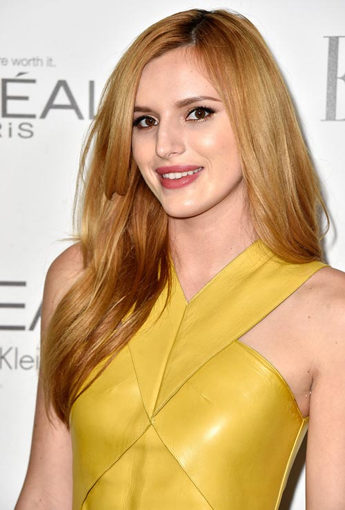 Strawberry Blonde Hair Colors: Bella Thorne