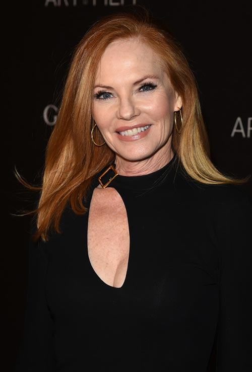 Strawberry Blonde Hair Colors: Marg Helgenberger
