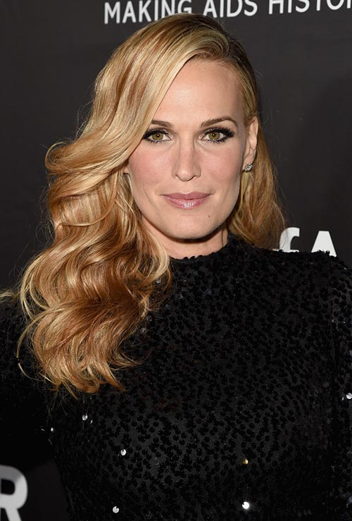 Strawberry Blonde Hair Colors: Molly Sims