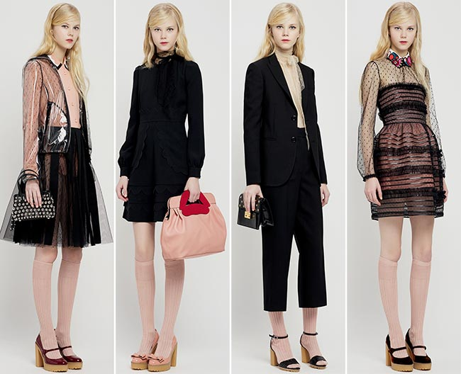 RED Valentino Pre-Fall 2015 Collection