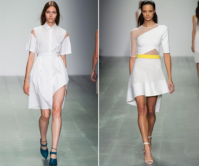 Spring 2015 Asymmetrical Dress Trend