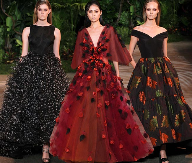 Christian Siriano Fall/Winter 2015-2016 Collection - New York Fashion Week