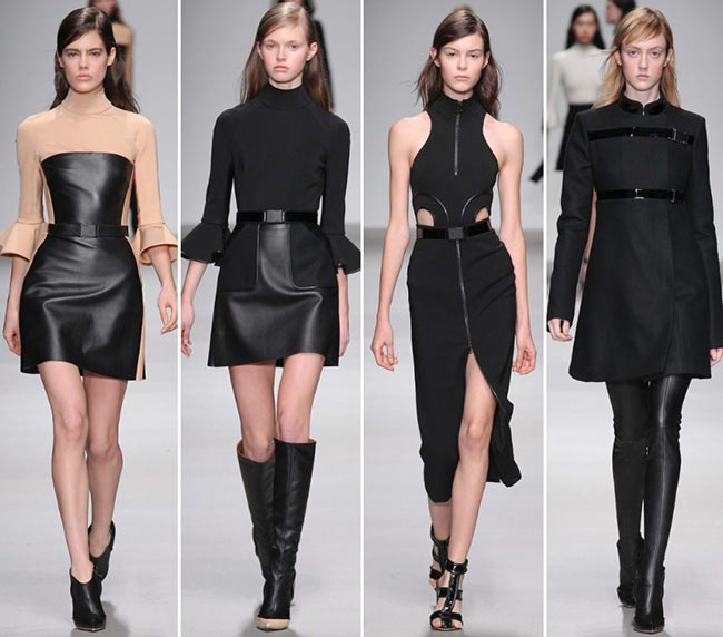 David Koma Fall/Winter 2015-2016 Collection - London Fashion Week