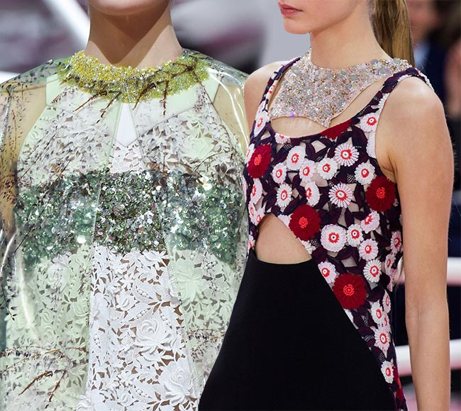 Spring 2015 Floral Couture Trend: Christian Dior