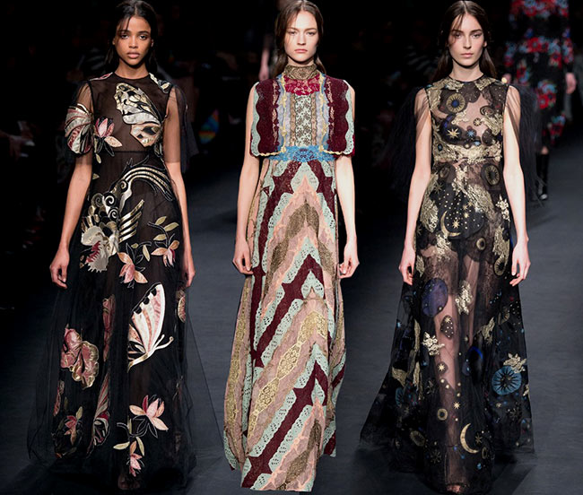 Valentino Fall/Winter 2015-2016 Collection - Paris Fashion Week