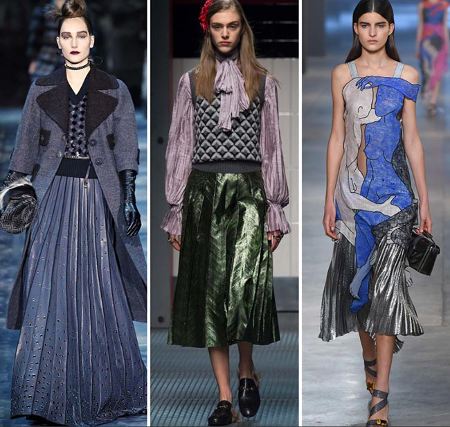 Fall/ Winter 2015-2016 Fashion Trends: Pleats