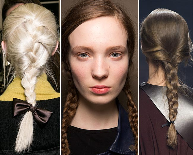 Fall/ Winter 2015-2016 Hairstyle Trends: Braided Hairstyles