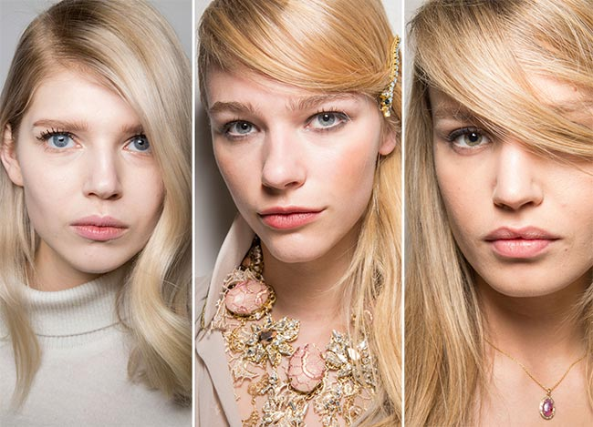 Fall/ Winter 2015-2016 Hairstyle Trends: Deep Side Parting