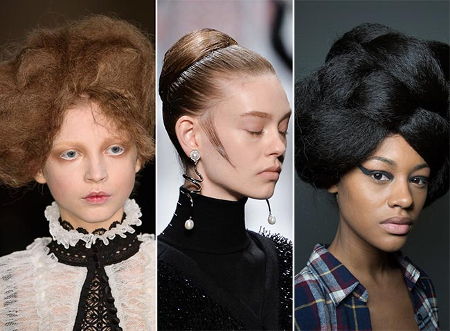 Fall/ Winter 2015-2016 Hairstyle Trends: Top Knots