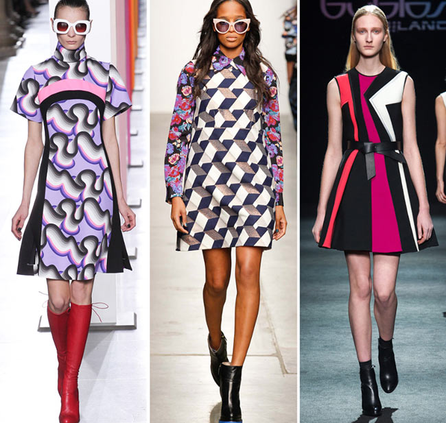 Fall/ Winter 2015-2016 Print Trends: Graphic Op-Art Patterns