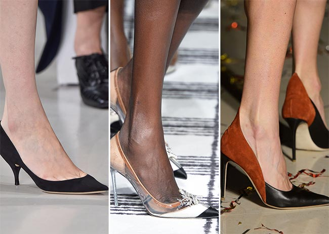 Fall/ Winter 2015-2016 Shoe Trends: Classic Pumps