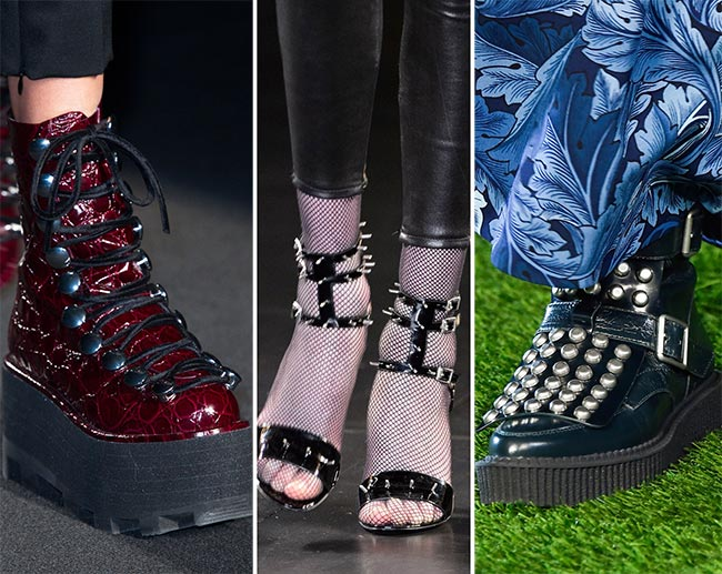 Fall/ Winter 2015-2016 Shoe Trends: Punk Shoes
