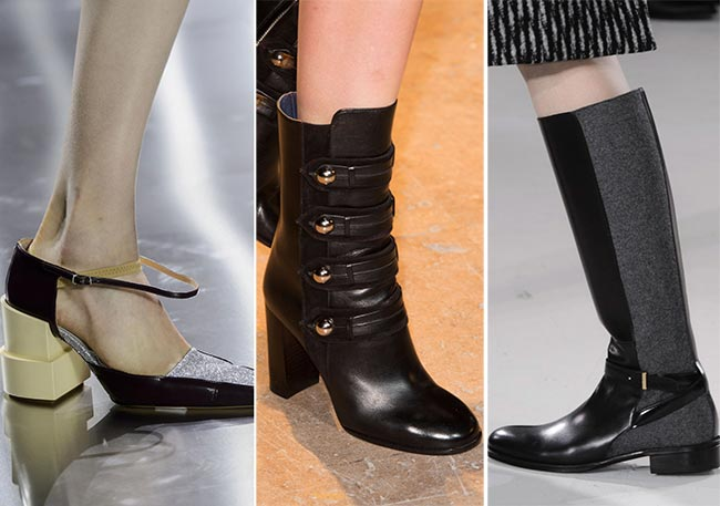Fall/ Winter 2015-2016 Shoe Trends: Masculine Meets Feminine Shoes