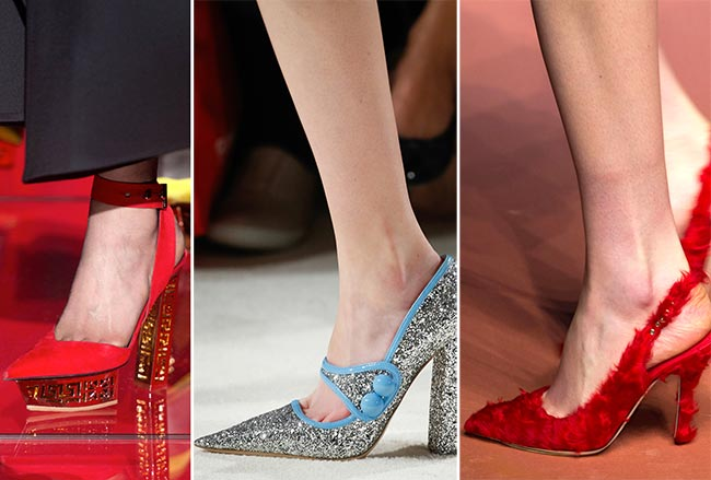 Fall/ Winter 2015-2016 Shoe Trends: Pointy-Toe Shoes