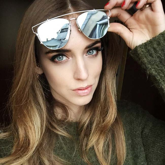 Dior Technologic Sunglasses: Chiara Ferragni