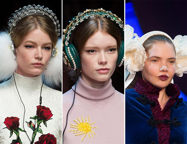 Fall/ Winter 2015-2016 Accessory Trends: Earmuffs and Regal Headphones