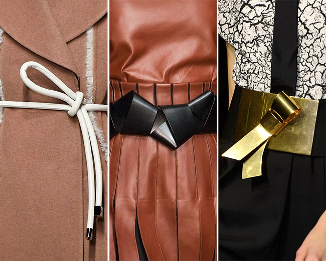 Fall/ Winter 2015-2016 Accessory Trends: Trendy Belts