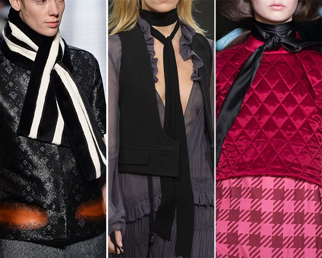 Fall/ Winter 2015-2016 Accessory Trends: Trendy Scarves