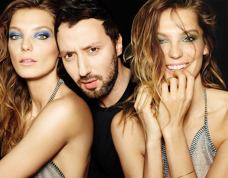 Anthony Vaccarello for Lancome Fall 2015 Makeup