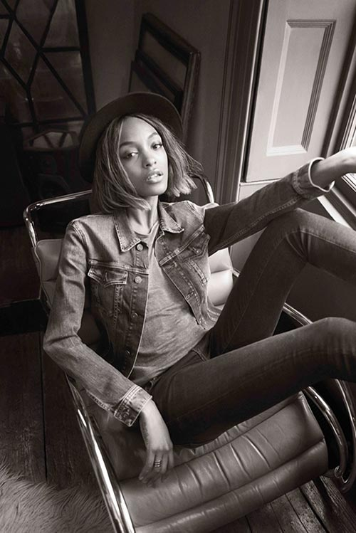 Jourdan Dunn for Pepe Jeans Fall/Winter 2015-2016 Campaign