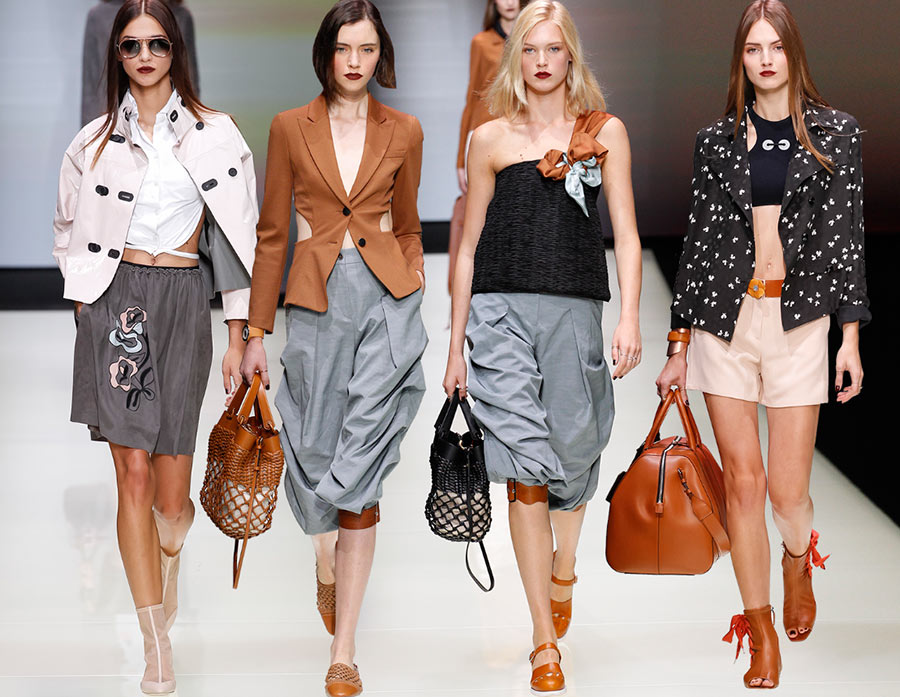Emporio Armani Spring/Summer 2016 Collection
