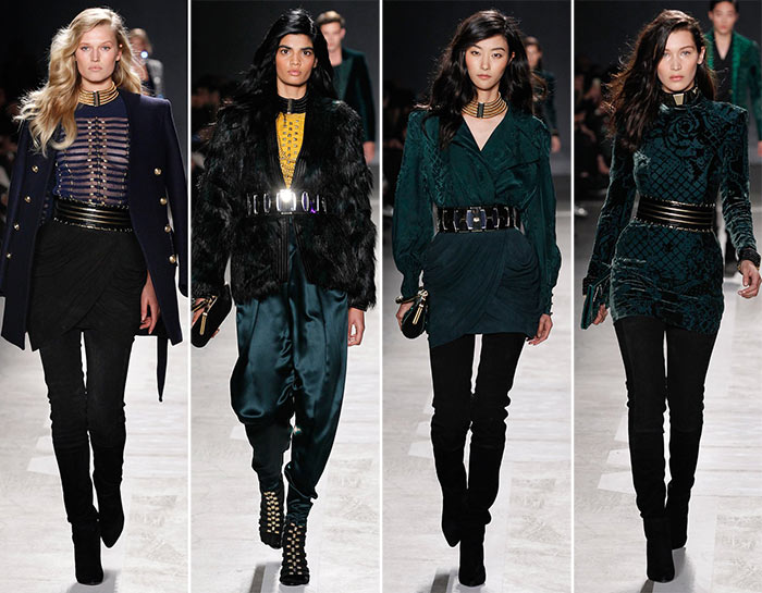 Balmain x H&M Fashion Show