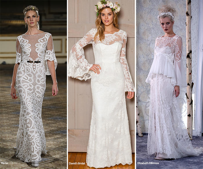 Fall 2016 Bridal Trends: Wedding Dresses with Bell Sleeves