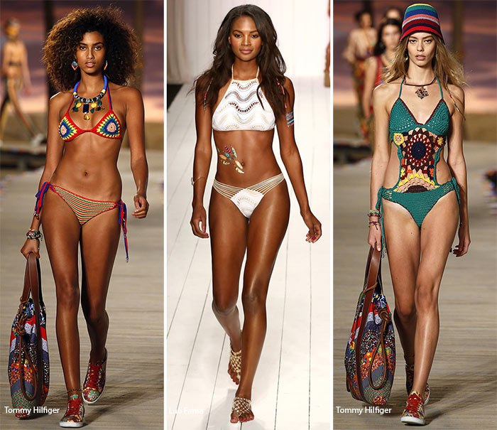 Spring/ Summer 2016 Swimwear Trends: Crochet Swimsuits