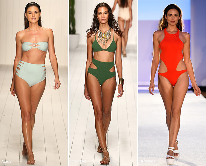 Spring/ Summer 2016 Swimwear Trends: Swimsuits with Cut-Outs