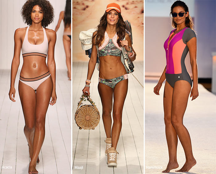 Spring/ Summer 2016 Swimwear Trends: Sporty Chic Swimsuits
