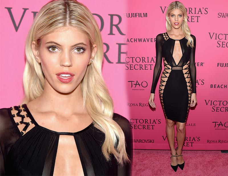 Victoria's Secret Fashion Show 2015 Pink Carpet: Devon Windsor