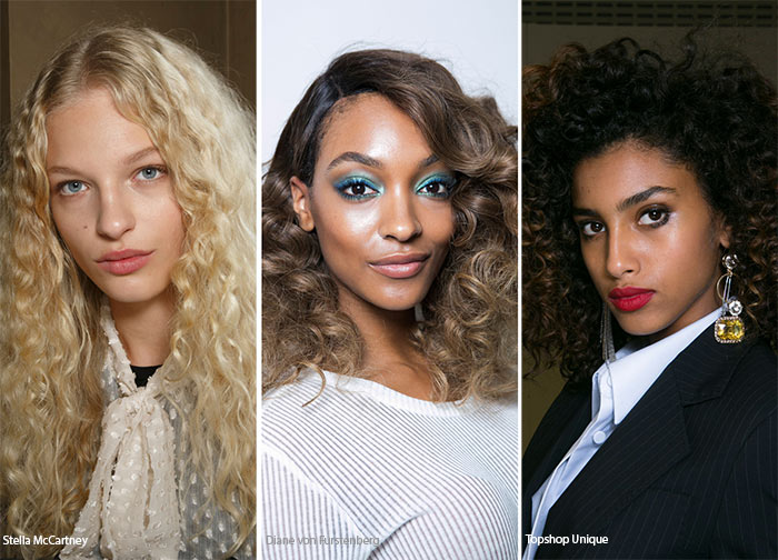 Spring/ Summer 2016 Hairstyle Trends: Curly Hairstyles