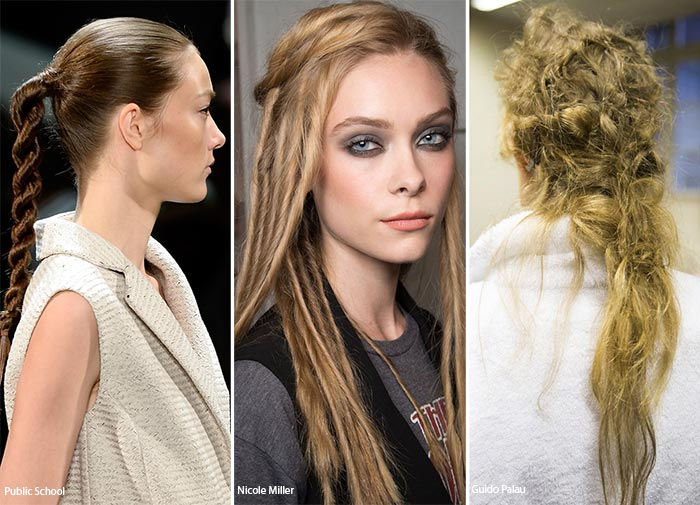 Spring/ Summer 2016 Hairstyle Trends: Dreadlocks & Messy Braids