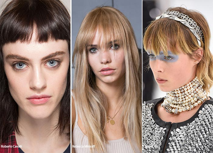 Spring/ Summer 2016 Hairstyle Trends: Fringed Hairstyles