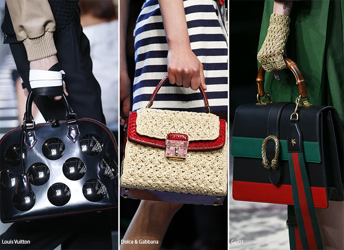 Spring/ Summer 2016 Handbag Trends: Bags with Top Handles