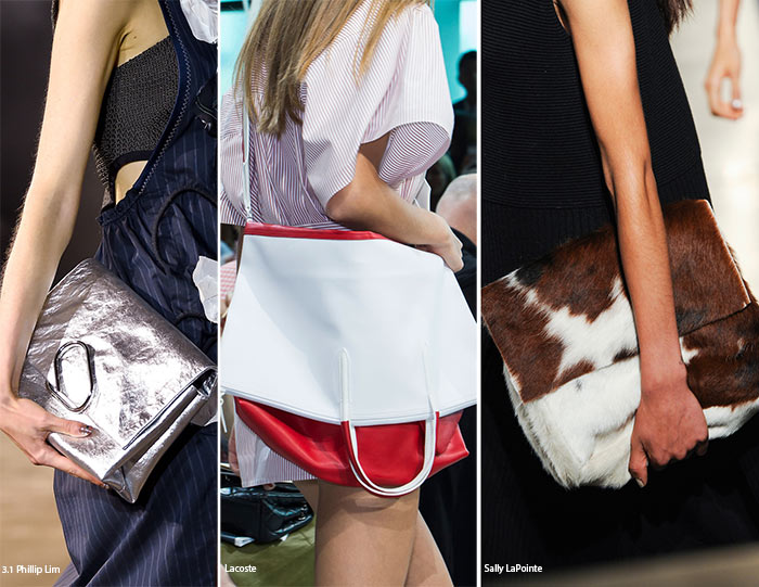 Spring/ Summer 2016 Handbag Trends: Folded Over Bags