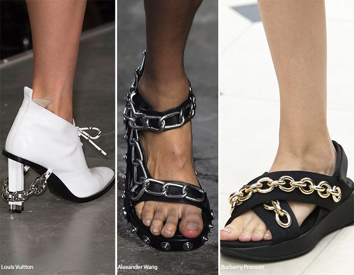 Spring/ Summer 2016 Shoe Trends: Chained Shoes