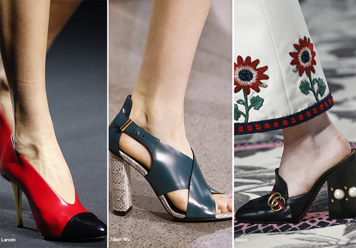 Spring/ Summer 2016 Shoe Trends: Leather Shoes