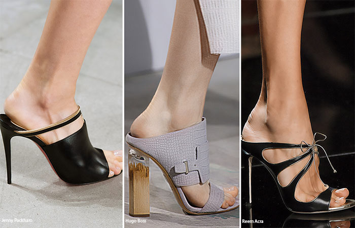 Spring/ Summer 2016 Shoe Trends: Mules