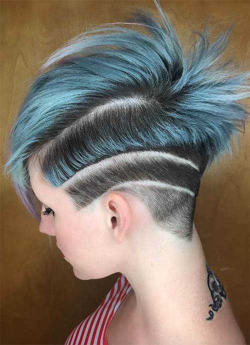 Short Hairstyles for Women: Shark Cut