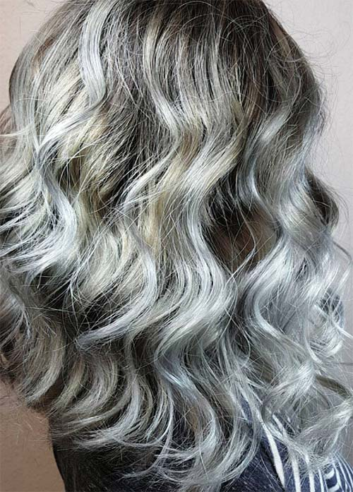 Gray hair color options the best hair color 2017 best 25 gray hair highlights ideas on blonde pmusecretfo Image collections