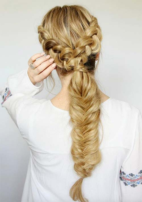 100 Ridiculously Awesome Braided Hairstyles: Y Braids