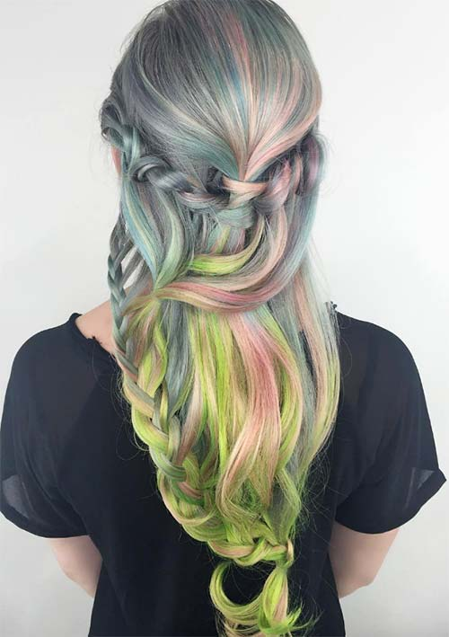 100 Ridiculously Awesome Braided Hairstyles: Flowing Mermaid Braids